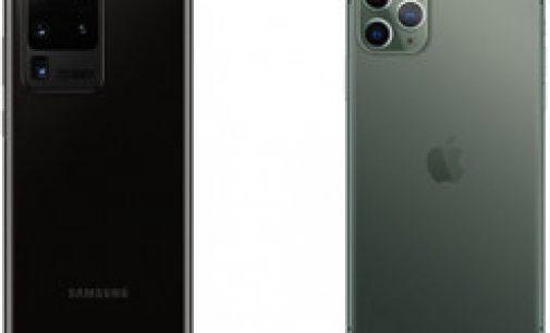 Сравнение автономности Samsung Galaxy S20 Ultra и iPhone 11 Pro Max